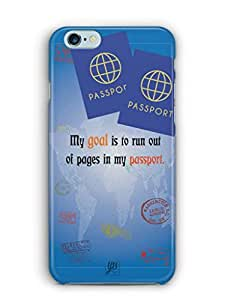 YuBingo Travel the World Mobile Case Back Cover for Apple iPhone 6 Plus