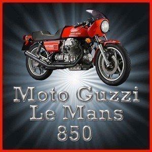 Moto Guzzi 850Le Mans Moto Acrilico Sottobicchiere usato  Spedito ovunque in Italia