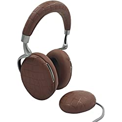 Parrot Zik 3 by Starck Casque audio, chargeur à induction inclus Bluetooth Brun Croco