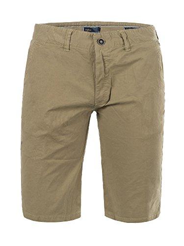 M430 FOREX Herren Bermuda Stoffhose kurze Hose Cargo Shorts Clubwear  Bermudas Beige fe1b7e5169