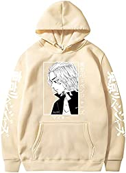 Anime Tokyo Revengers Hoodies Manjiro Sano Men Woman Cosplay Streetwear Sweatshirts Unisex Tops