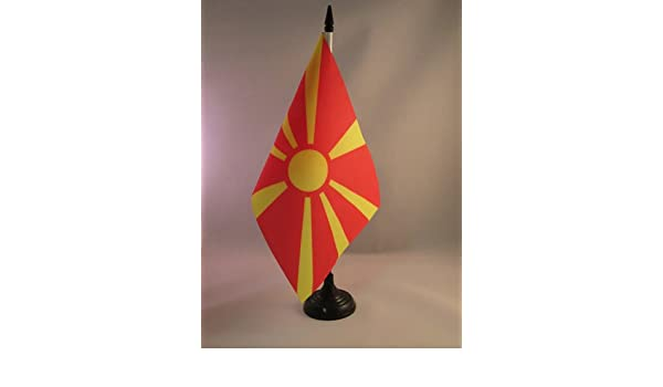 Piccola BANDIERINA del Regno Belga 15 x 15 cm AZ FLAG Bandiera da Tavolo STANDARDO Reale del Belgio 15x15cm