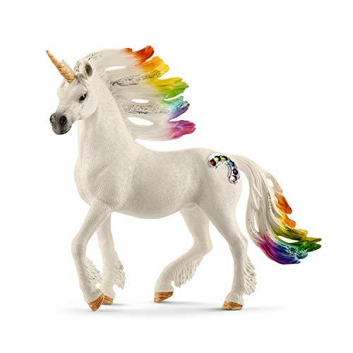 Schleich- Figura de Unicornio arcoíris, Semental, 18cm