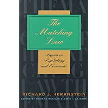 [(The Matching Law : Papers in Psychology and Economics)] [By (author) Richard J. Herrnstein ] published on (May, 2000)