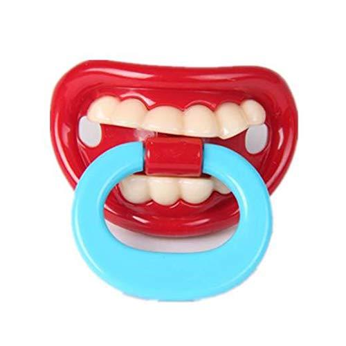 Newin Star Los dientes leche divertido chupetes divertidos
