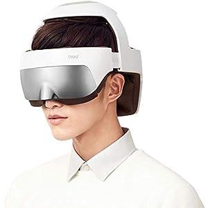 Breo Kopfmassagegerät, wiederaufladbare Auge Massagegerät 2-in-1-Helm-Massagegerät mit Wärme, Luftkompression, APP-Steuerelement, Geschenke für Männer, Geschenk Vatertag- iDream5