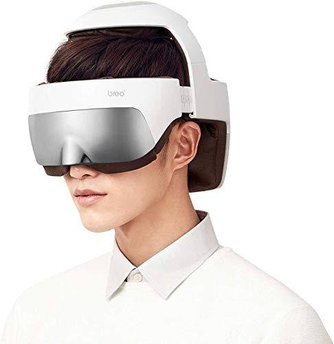 Breo iDream5 Kopf-Massagegerät, wiederaufladbare Auge Massagegerät...