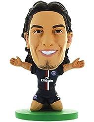 Soccerstarz - 401461 - Figurine Sport - Officiellement Autorisé De Edinson Cavani Dans Le Maillot Officiel Du Paris St Germain