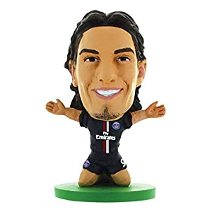 Soccerstarz Psg Paris St Germain Statuetta di Edinson Cavani Home Kit 2013-14
