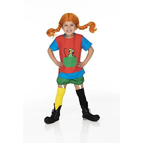 Pippi Langstrumpf 44-3779-00 Kostüm, 4-6 Jahre, 110