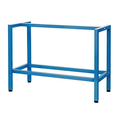 Werkbank 90cm Blau Werktisch Werkstatttisch Arbeitstisch Tischgestell Packtisch