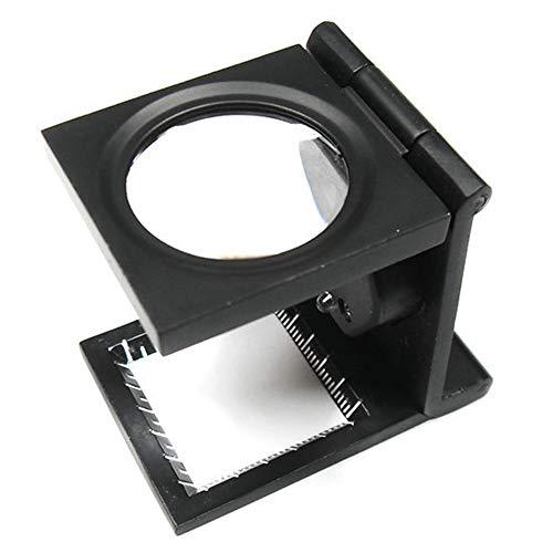 Unbekannt 8-Fach Desktop-Lupe, Inspektionstuch, Inspektionstuch, 8X Mit LED-Lichtlupe