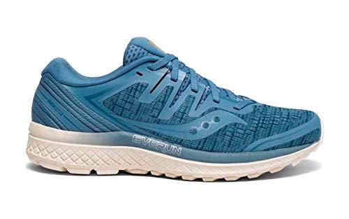 Saucony Damen Guide Iso 2 Fitnessschuhe, Blau (Blue Shade 41), 40.5 EU - Saucony Schuhe Blau