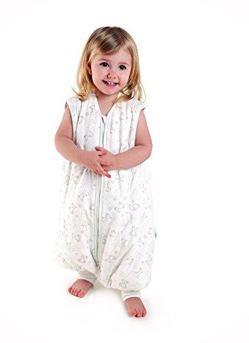 Sacco nanna con piedini invernale slumbersac per bimbo circa 3.5 tog - orsetto - 12-18 mesi