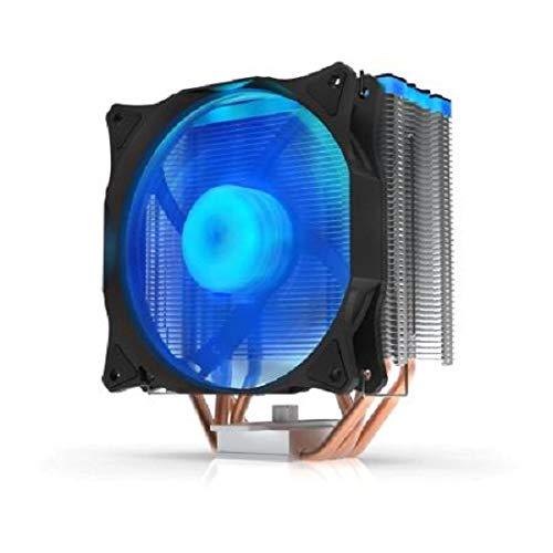 SilentiumPC Fera 3 HE1224 RGB CPU Kühler mit 120mm RGB PWM Lüfter (500-1600 U/min, TDP 180W)
