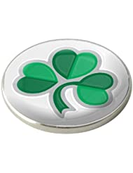 Asbri Golfball-Markierung, irisches Kleebad