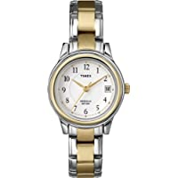 Timex Women's Quartz Watch, Analog Display and Stainless Steel Strap T25771