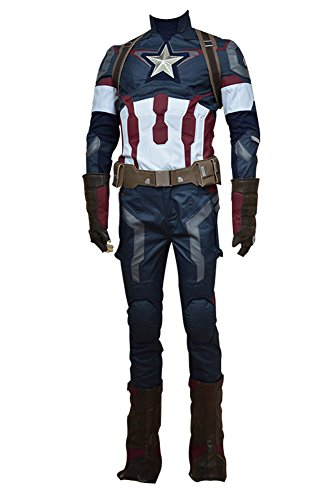 Fuman Avengers: Age of Ultron Captain America Steve Rogers Cosplay (Kostüm Steve Rogers)