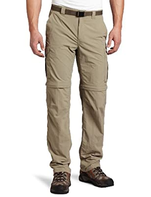 Columbia Men's Silver Ridge Convertible Pant (Extended), Tusk, 44X34