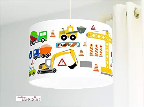 Lampe Babyzimmer Baustelle