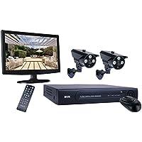 Smartwares 4canali Videosorveglianza con Hard-Disk 500GB, colore Video sorveglianza per