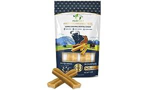 Pawfect Treats Pawfect Himalayan Chew Bars - Natural Cheese Dog Treats (Medium-65g x 2)