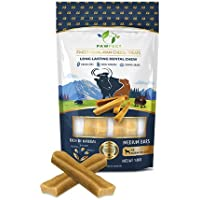 Pawfect Treats Pawfect Himalayan Chew Bars - Natural Cheese Dog Treats (Medium-65g x 2)