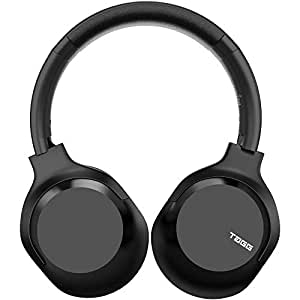 TAGG PowerBass 700 Over Ear Wireless Bluetooth Headphones with Mic | Foldable On Ear Headset with AUX-in Support