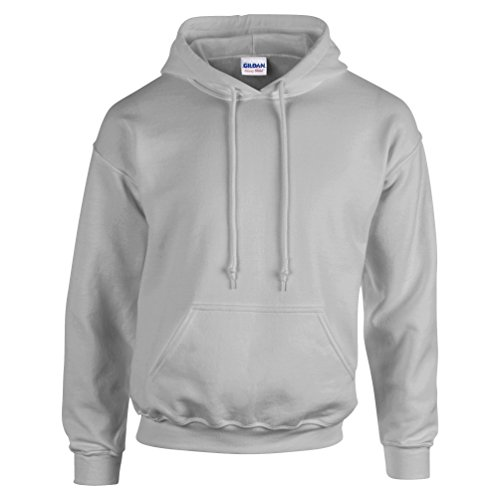 Gildan Herren Heavy Blend Hooded Sweatshirt 18500 Sport Grey 3XL -