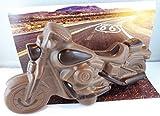 09#063020 Schokoladenmotorrad, Vollmilch, 250gr. 24 cm, Harley, Motorrad, Davidson, Biker, Geschenk,...