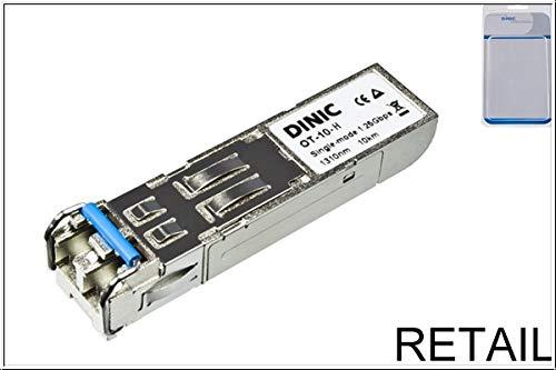 Dinic Mini GBIC/SFP Fiber Optic 1000Mbit/s SFP Netzwerk-Transceiver-Module-Netzwerk-Transceiver-Modul (1000Mbit/s, SFP, LC, IEEE 802.3z, Fiber Optic, 10000m) - 1000 Fiber Optic