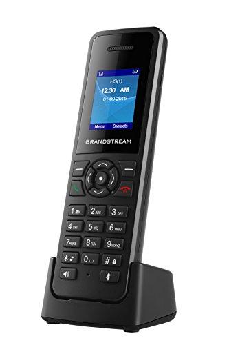 Grandstream Networks DP720 - Teléfono (Teléfono DECT, Terminal inalámbrico, Altavoz, Negro)