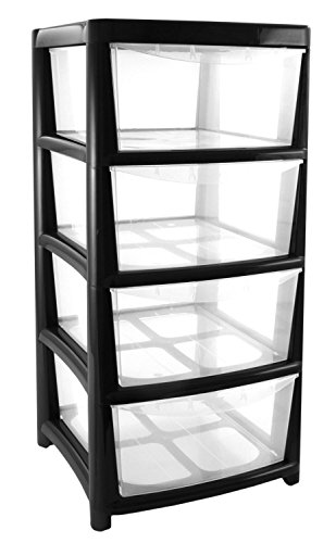 4-drawer-large-plastic-storage-drawer-tower-black-perfect-for-schoolsoffices-and-childrens-toys