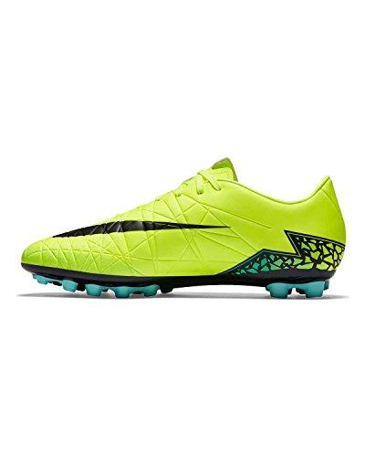 Nike Hypervenom Phelon Ii Ag-R, Chaussures de Foot Homme Jaune - Amarillo (Amarillo (Volt/Black-Hyper Turq-Clr Jade))