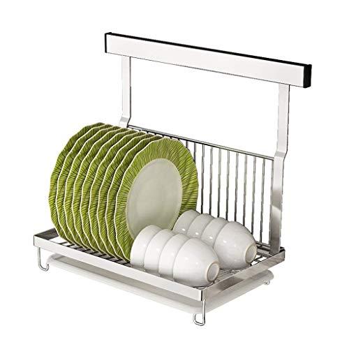Kitchen Dish Drainers, Wandmontage Abtropfgestell, Edelstahl Utensilien Arbeitsplatte Lagerung Tropfschale Wäscheständer -