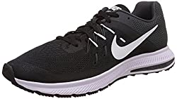 Nike Mens Zoom Winflo 2Black, White and AnthraciteRunning Shoes -7 UK/India (41 EU)(8 US)