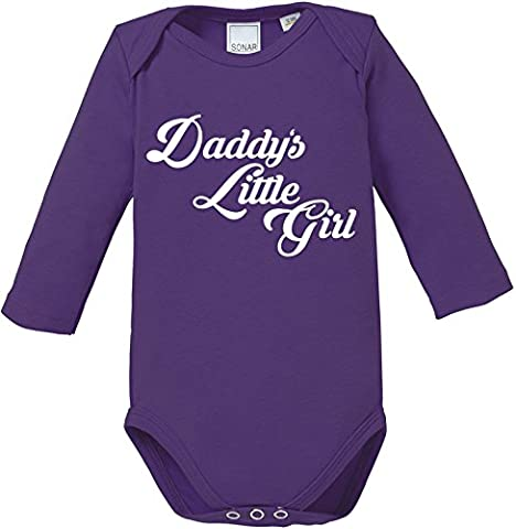EZYshirt® Daddy´s little Girl Baby Body Longsleeve