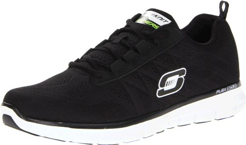 Skechers Synergy Power Switch, Mens Trainers, Black, 8 UK (42 EU)