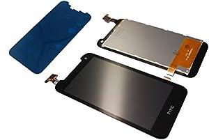 HTC Desire 310 LCD Display Touch Screen Front Glas Scheibe Klebestreifen Original Neu