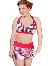 Banned Women's Bikini Set Red Red