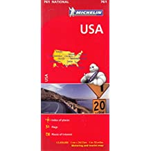 USA Map (Michelin National Map)