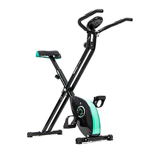 Heimtrainer Magnetische (Heimtrainer klappbar, funktionieren magnetisch–Pedale Flexibler und Endschalldämpfer Fitness Sport Cardio)