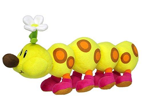 Super Mario ALLSTAR COLLECTION Stofftier Kuscheltier Plüsch Figur Plüschtier: Wiggler 14cm (Super-mario, Wiggler)