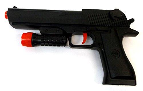 Brigamo 11023 - Dartblaster Pistole Kaliber .44 BERETTA, Spielzeugblaster inkl. Softdartpfeile gratis thumbnail