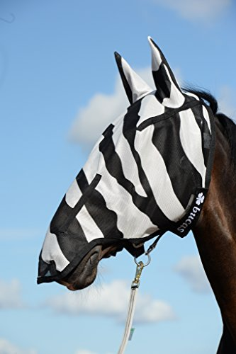 Bucas Buzz-Off Full Face Fly Mask - zebra - Fliegenmaske, Groesse:XS
