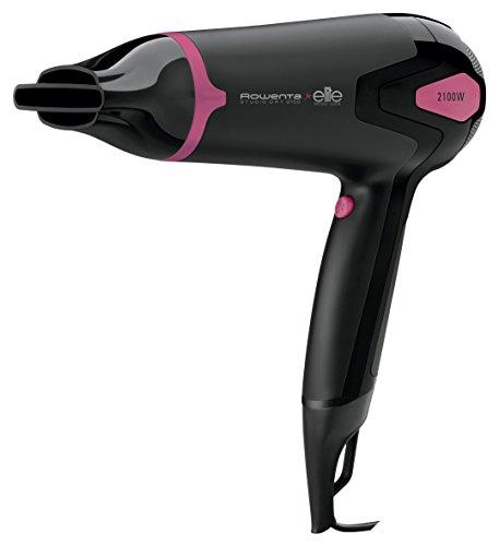 Rowenta cv5312f0 studio dry asciugacapelli compatto per capelli sani e lucenti, 2100 w