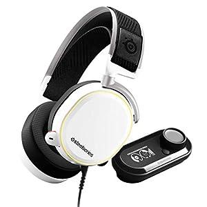 SteelSeries Arctis Pro GameDAC - Gaming Headset - Certified Hi-Res Audio - ESS Sabre DAC - White