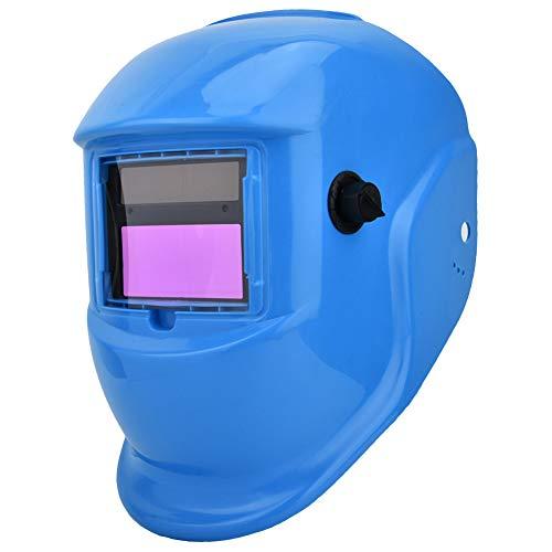 Solar Power Schweißhelm, Schützende Schweißer Gesichtsmaske mit automatischer Verdunkelung/Anti-UV/Anti-Infrarot -