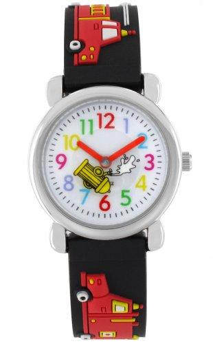 pacific-time-kinder-armbanduhr-auto-feuerwehr-analog-quarz-schwarz-20076