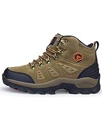JPFCAK, Scarpe da Trekking da Uomo, Stivali da Moto, Outdoor, Sport, Fitness, Mesh, Traspiranti, Scarpe da…